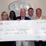 Kia Motors Manufacturing Georgia provides $25,000 to Troup County's Board of Tax Assessors