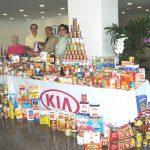 Kia Motors Manufacturing Georgia stocks local food pantries