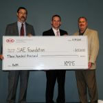 Kia Motors Manufacturing Georgia continues support of SAE Foundation with second of three $300,000 contributions