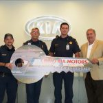Kia Motors Manufacturing Georgia donates vehicles to schools and public safety departments for educational and training purposes