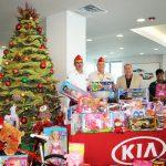 Kia Motors Manufacturing Georgia Team Members Donate To Toys For Tots