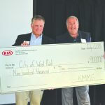 Kia Motors Manufacturing Georgia provides combined $1.5 million in funding to West Point and THINC