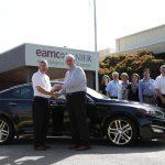 Kia Motors Manufacturing Georgia Donates Vehicle to EAMC Lanier Hospital's inpatient Acute Rehabilitation Unit