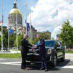 Georgia-Assembled 2020 Kia Telluride Presented to State Officials