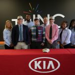 Kia Motors Manufacturing Georgia signs on three students from THINC's Expedition program